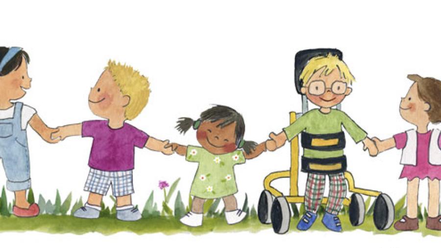 ASPACE publica un conte al voltant dels drets de nens i nenes amb PCI