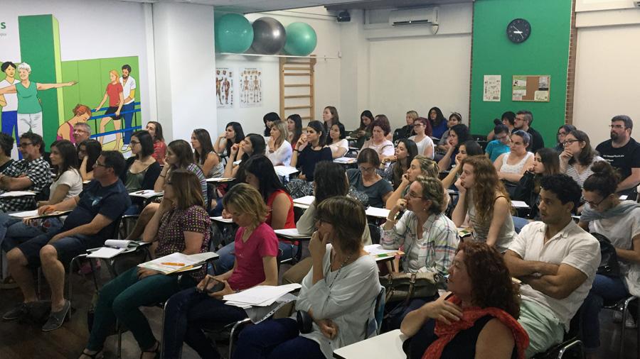 Éxito de participación en la I Jornada Solidaria de Fisioterapia Pediátrica, patrocinada por Rehagirona