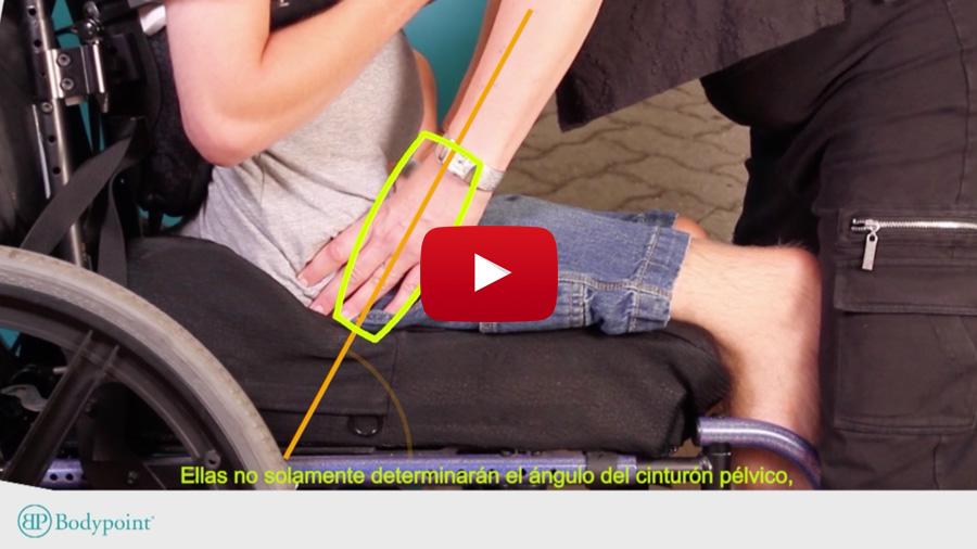 Cómo encontrar la posición correcta para un cinturón pélvico Bodypoint