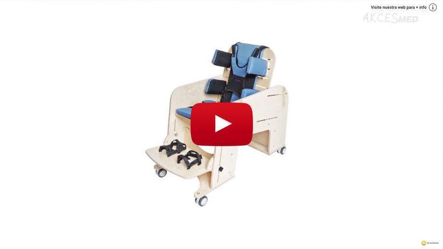 Com utilitzar i ajustar la cadira d'interior Jumbo