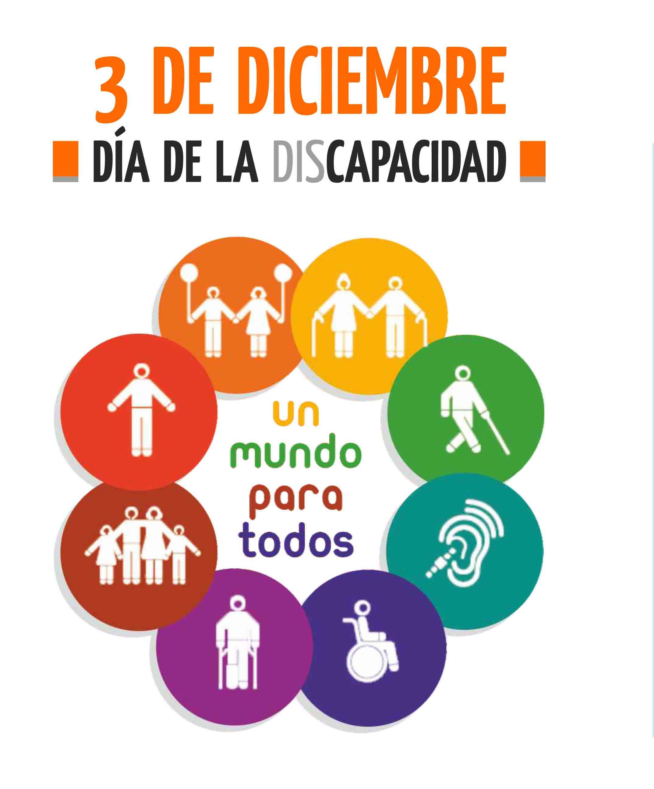 Resultado de imagen de dia internacional de las personas con discapacidad 2019