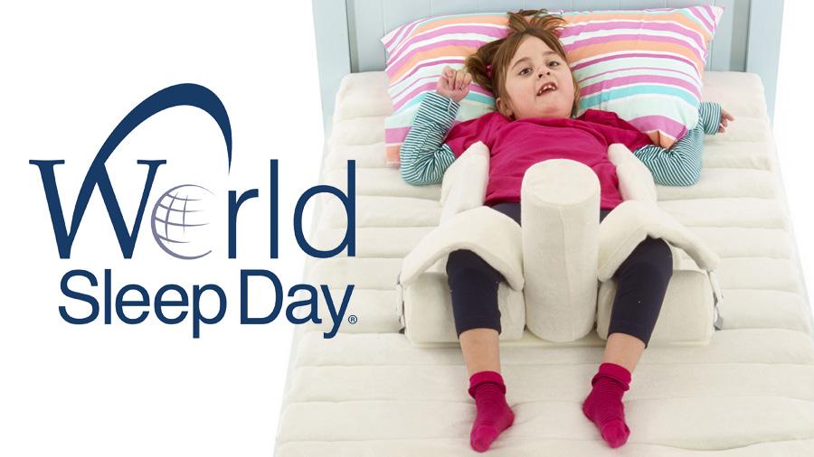 «Posicionament correcte + Somni saludable = envelliment saludable», el nostre lema d'avui per al Dia Mundial del Son