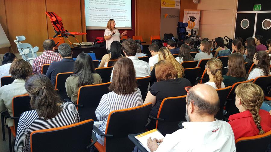 """Gran aceptación del Rehacademia """"Principios básicos de la sedestación"""" que se ha celebrado hoy en Madrid"""