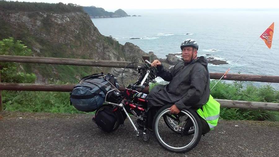 Islandia, la nueva aventura de Carlos en silla de ruedas y handbike para finales de verano