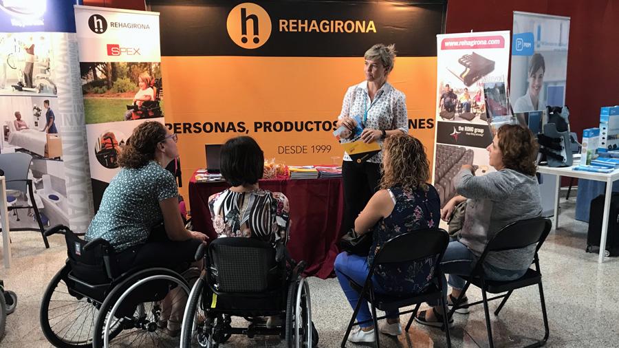 Numerosas visitas en el Congreso Paraplejia de Gran Canaria