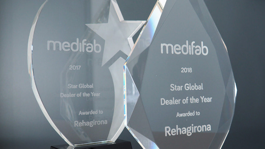 Per segon any consecutiu Medifab ens concedeix el premi «Star Global Dealer of the Year»