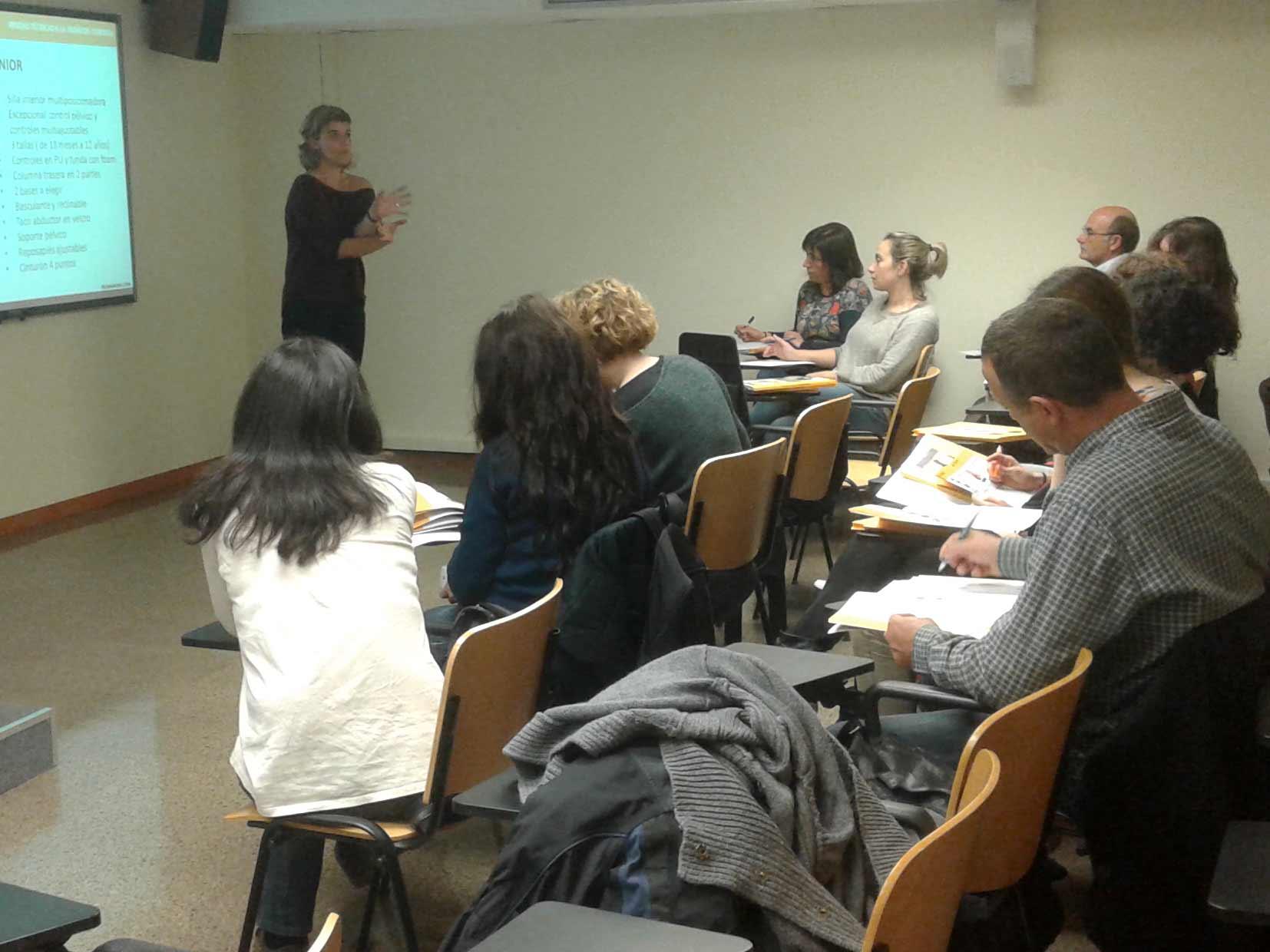 Presentación en el Departament d'Ensenyament de Barcelona