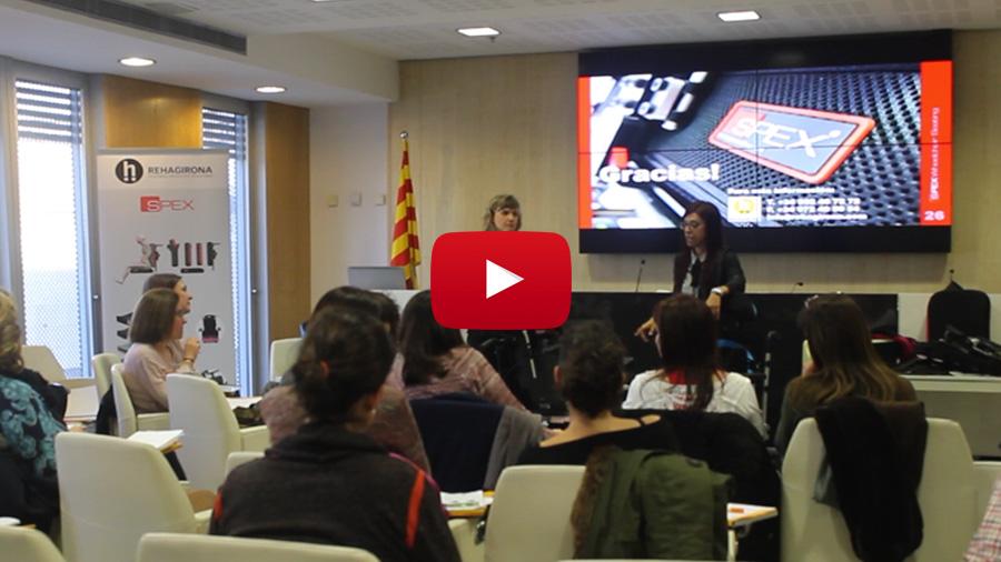 Publiquem el vídeo que resumeix la presentació del Sistema de posicionament Spex a Barcelona