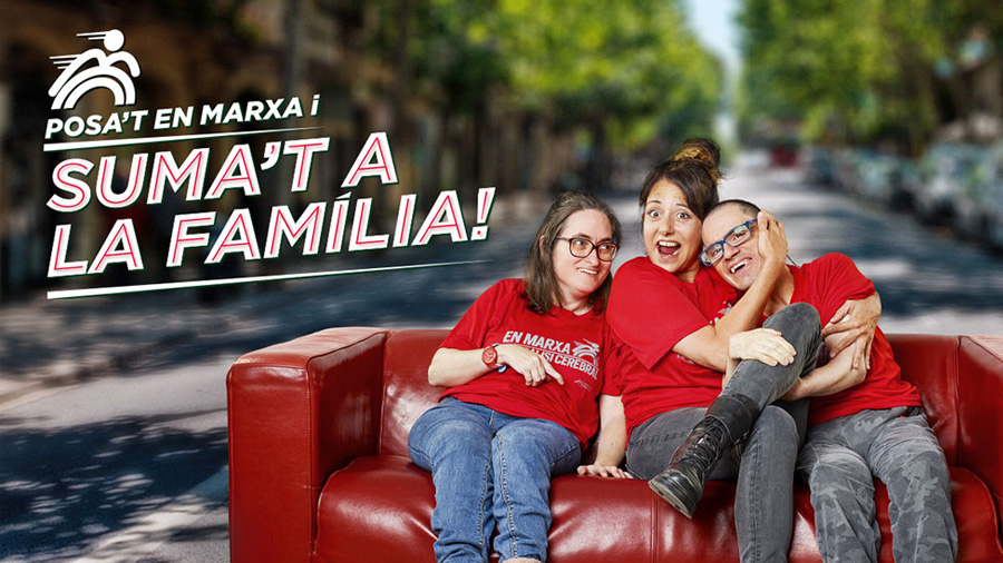 """Participa a la 9a Cursa solidària """"En marxa per la paràlisi cerebral"""" de Barcelona"""