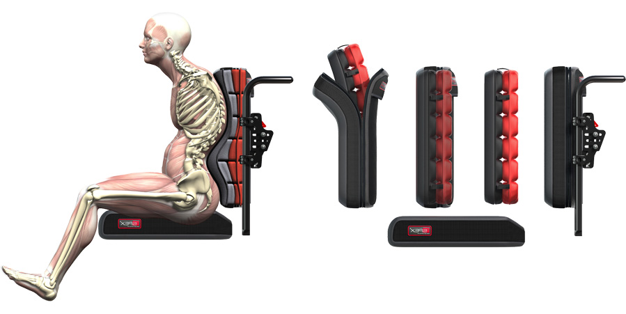 Respaldos para sillas de ruedas Spex