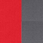 Rojo / Gris oscuro