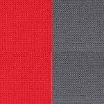 Vermell / Gris fosc