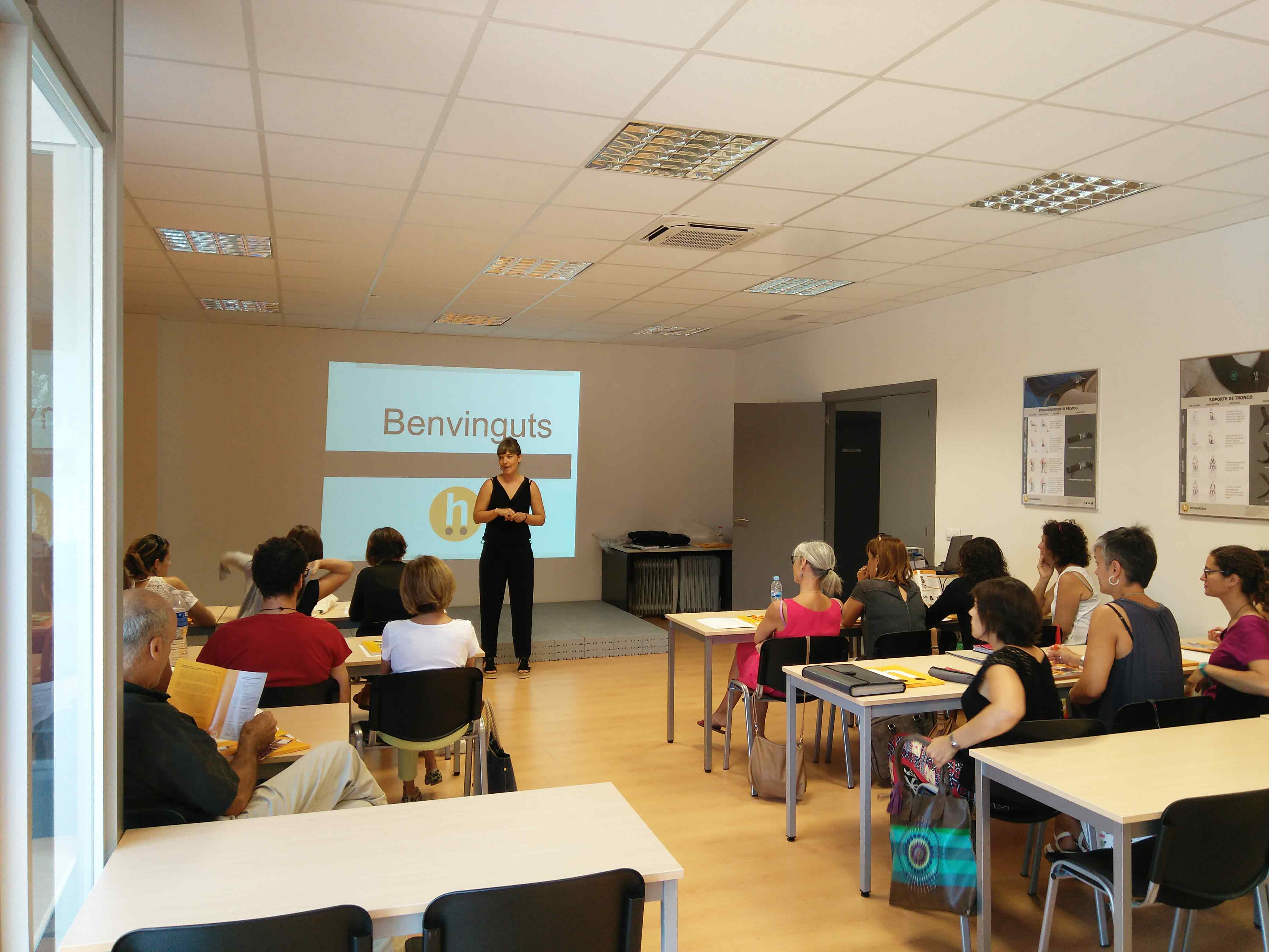 Visita Fisioterapeutas EAP Gironès
