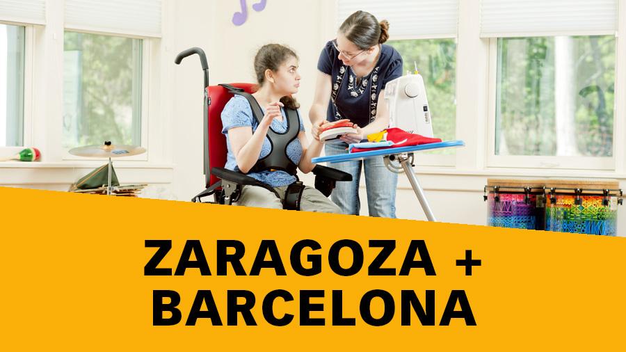Saragossa i Barcelona, noves ciutats on es realitzarà el Rehacademia «Principis bàsics de la sedestació»