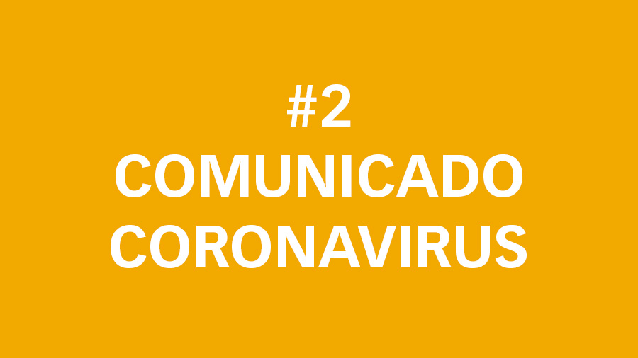 #2 Comunicado oficial sobre el Coronavirus: reducción jornada laboral