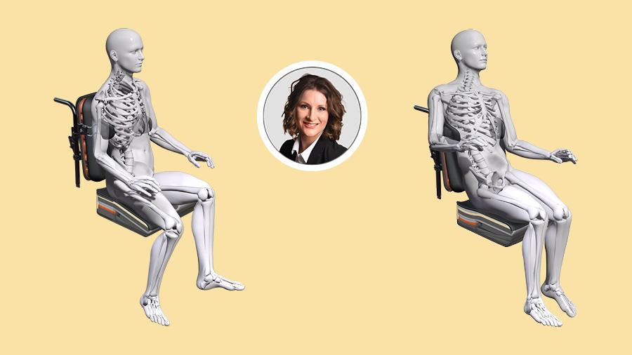 Inscríbete al webinar Posicionamiento en sedestación - Cojín Spex Flex para limitación de la flexión de cadera asimétrica
