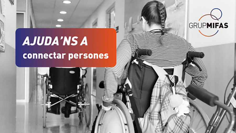 Colabora en la campaña de crowfunding de Mifas para combatir el aislamiento social de algunos usuarios de sus centros de día
