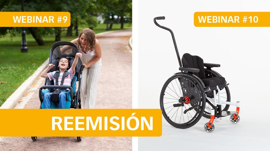 La setmana que ve reemetrem els dos últims webinars: #9 Com triar el cotxet perfecte i #10 Com triar el model de cadira més adequat
