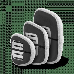 Almohadillas laterales Biangulares para control torácico Spex - Rehagirona