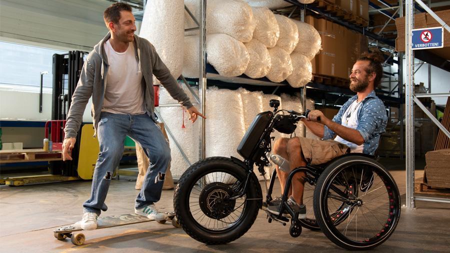 Características y beneficios más destacados de la handbike Klick Monster Standard
