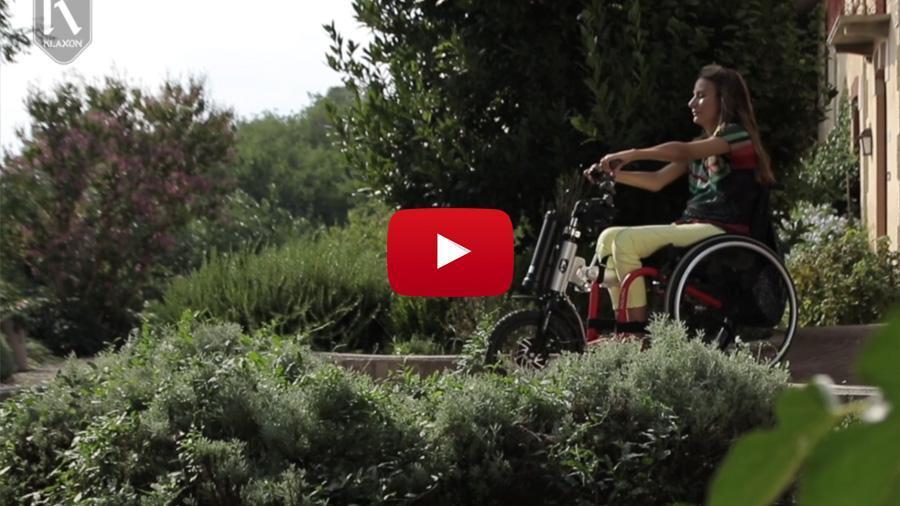 Principales características de la handbike Klick Electric Tetra