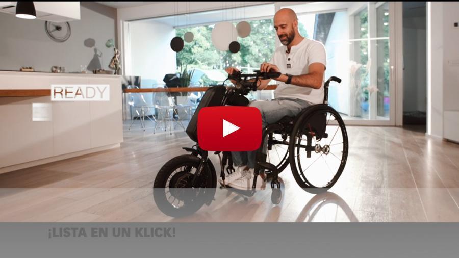 Descobreix tot el poder de les handbikes Klick Power Limited Edition