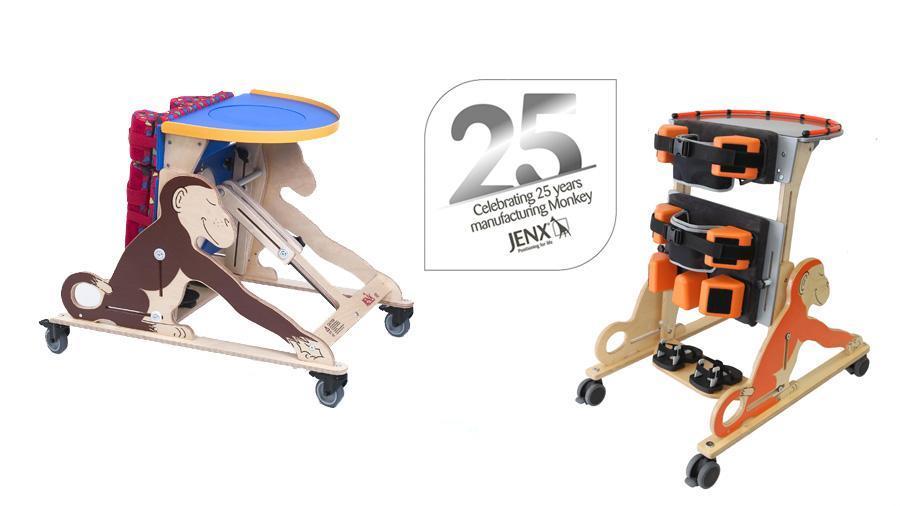 El bipedestador Monkey de Jenx cumple 25 años