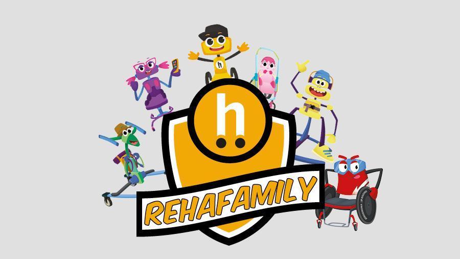 Presentem la RehaFamily, els nous personatges de RehaFit