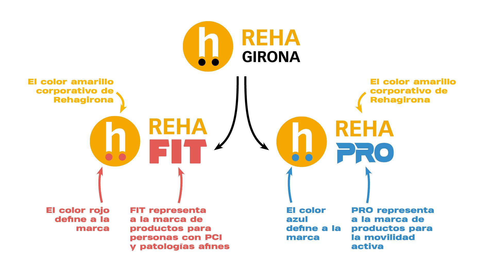 Creamos RehaFit y RehaPro, dos nuevas marcas para aportar más valor y facilitar la segmentación de nuestros productos