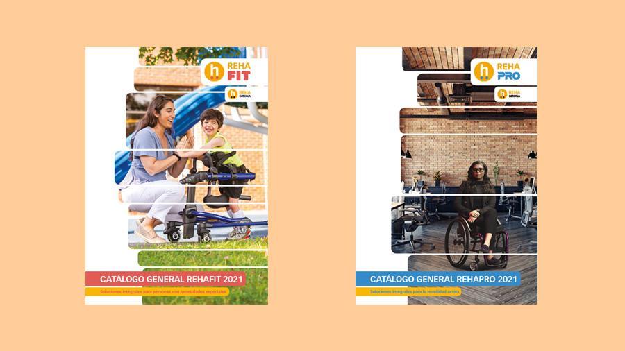 Publicamos los catálogos generales de RehaFit y RehaPro 2021