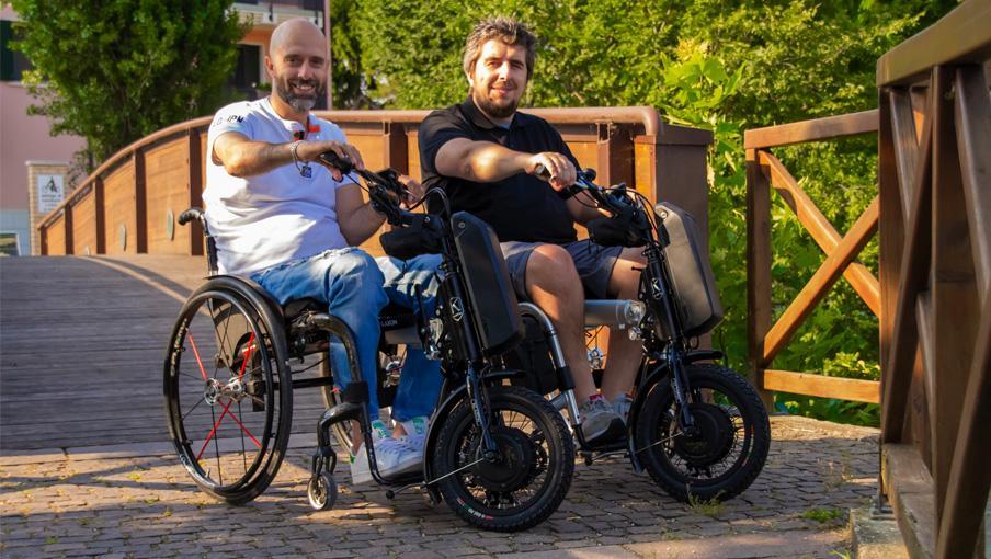 Handbikes Klick - RehaPro, soluciones integrales para la movilidad activa