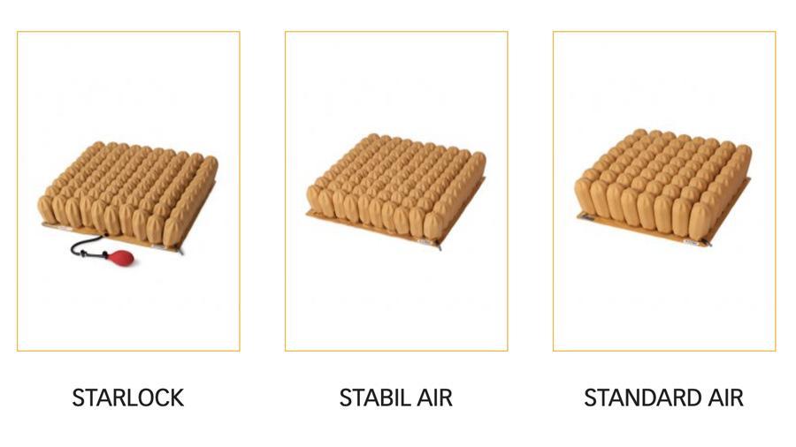 Modelos cojines antiescaras Star Cushion - Rehagirona
