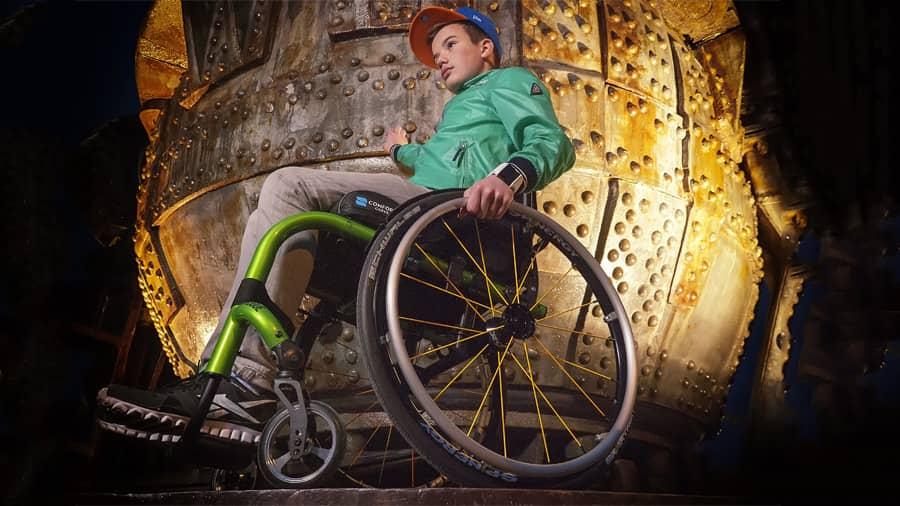 Partes de una silla de ruedas, aprende a identificarlas