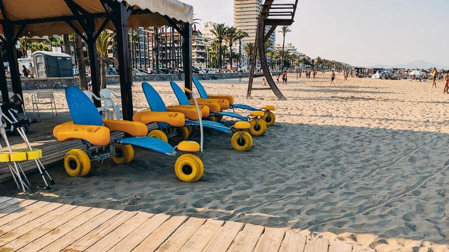 Las playas accesibles más bonitas de España